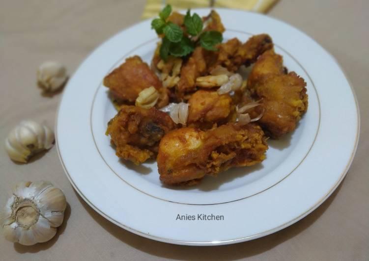 Resep Ayam Goreng Bawang Khas Batam