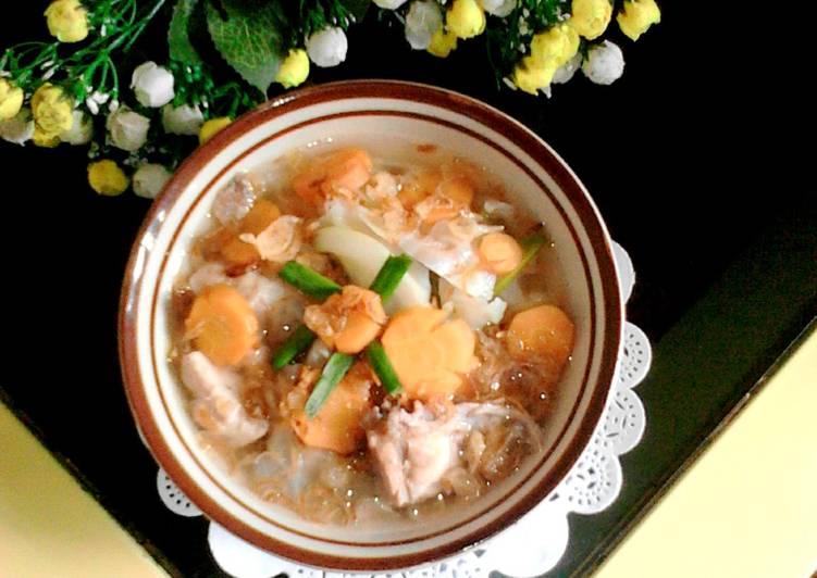 Resep Sop Ayam Sayuran
