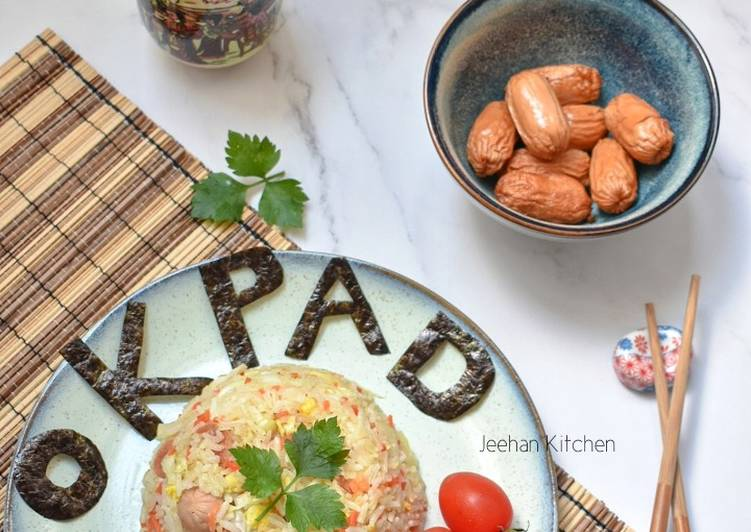 Resep Japanese Fried Rice with Sausage