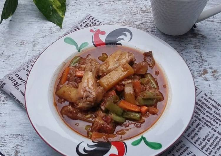 Resep Bistik Ayam