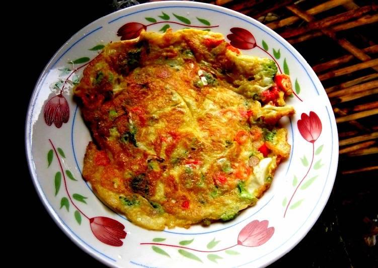 Resep #Telur dadar brokoli