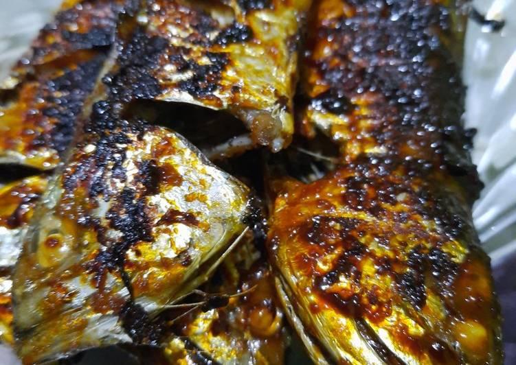 Resep Ikan kembung bakar teflon