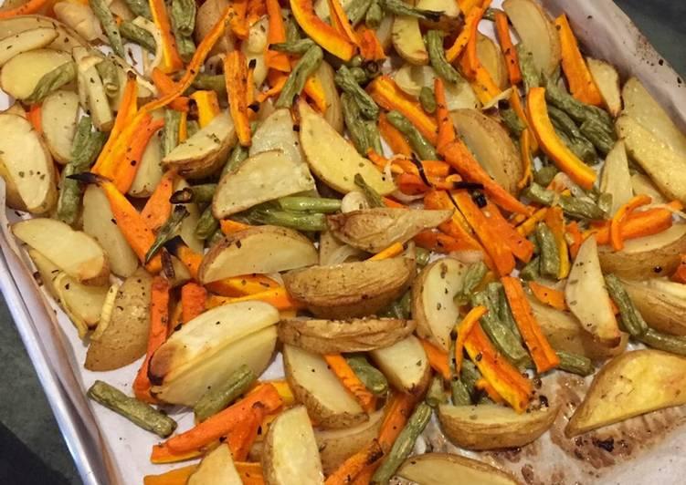 Resep Roasted Veggies