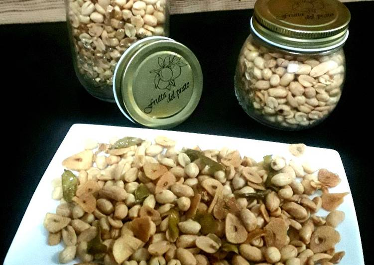 Resep Kacang Goreng (Rasa Mente)