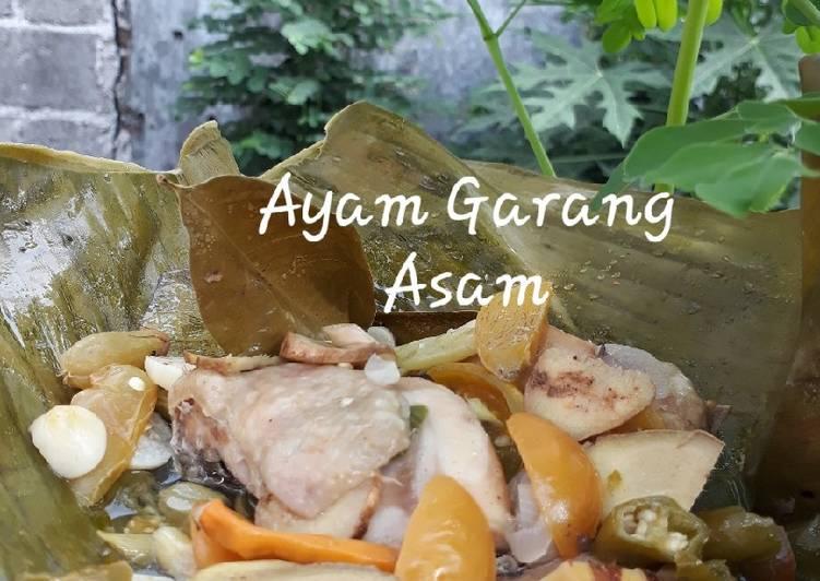 Resep Ayam Garang Asam