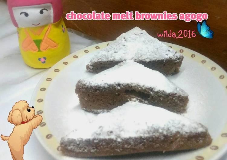 Resep Chocolate Melt Brownies Agogo
