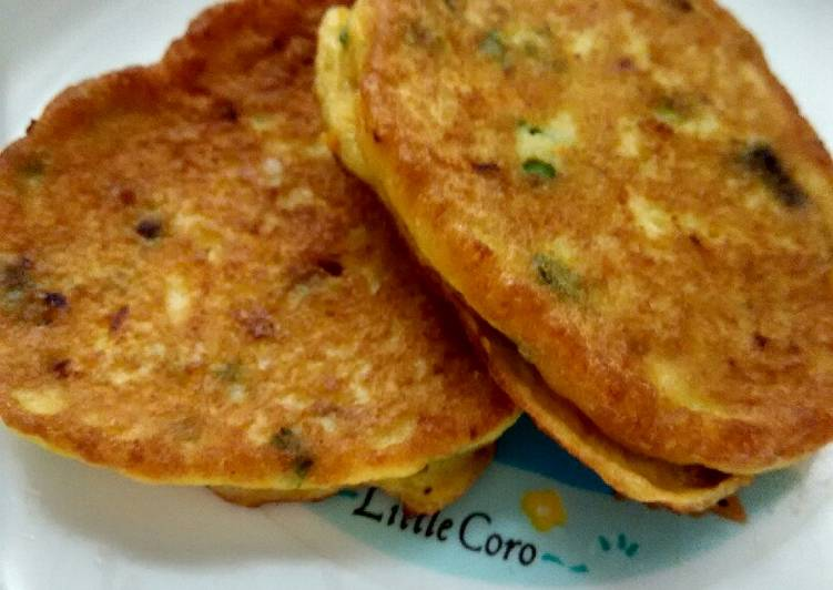 Resep Day. Cheese Chicken Pancake (month+)
