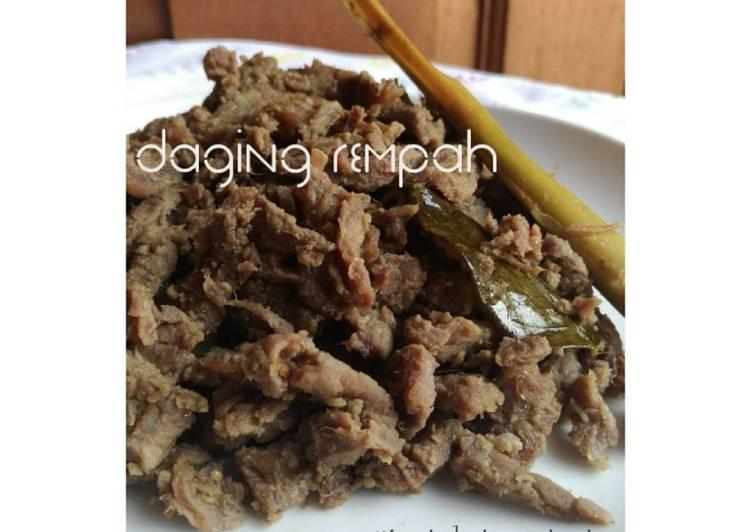 Resep Daging Rempah