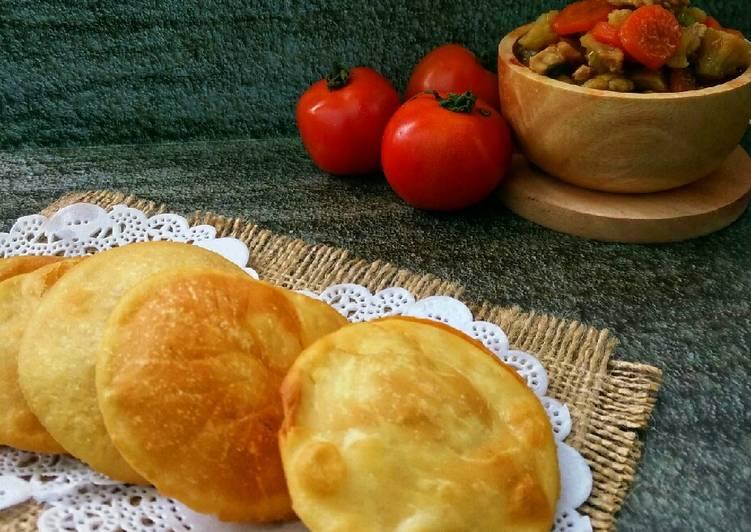 Resep Roti puri / Poori bread