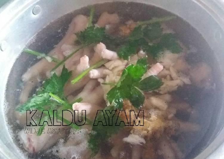 Resep Kaldu Ayam Cair Mudah