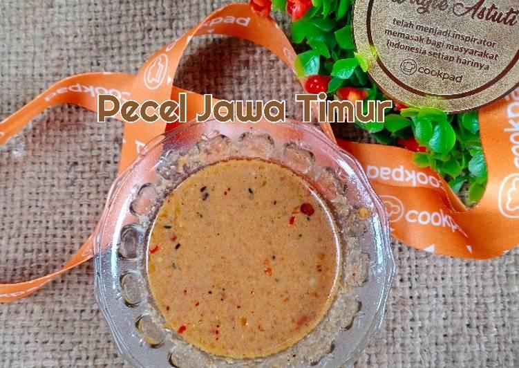 Resep Pecel Jawa Timur