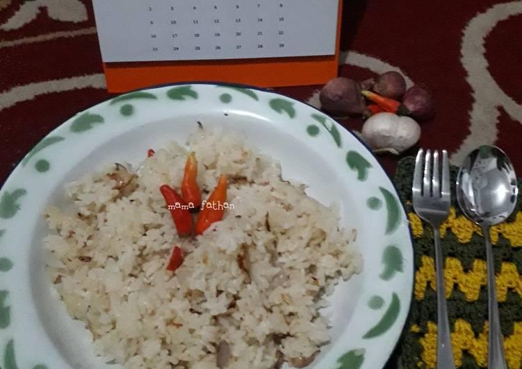 Resep Nasi goreng bumbu iris
