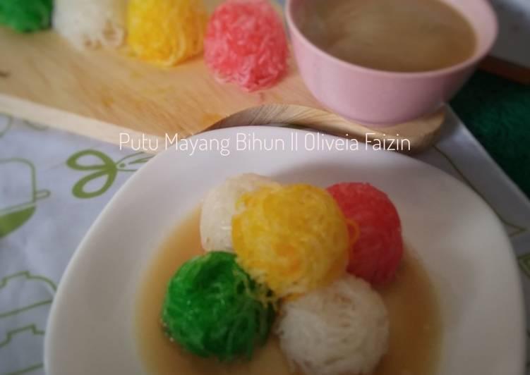 Resep Putu Mayang Bihun