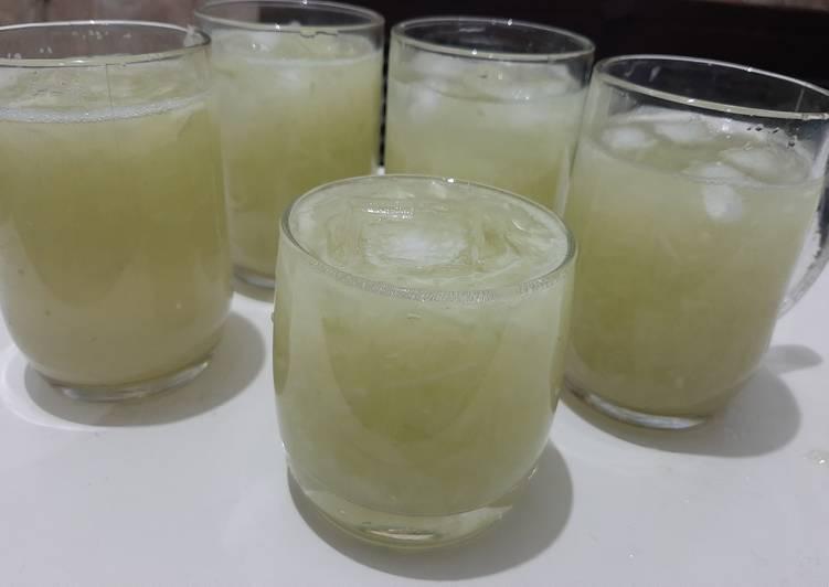 Resep Es Timun Lemon