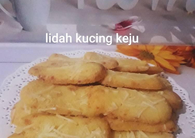 Resep Lidah kucing keju