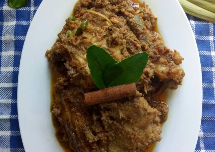 Resep Ayam Rendang padang