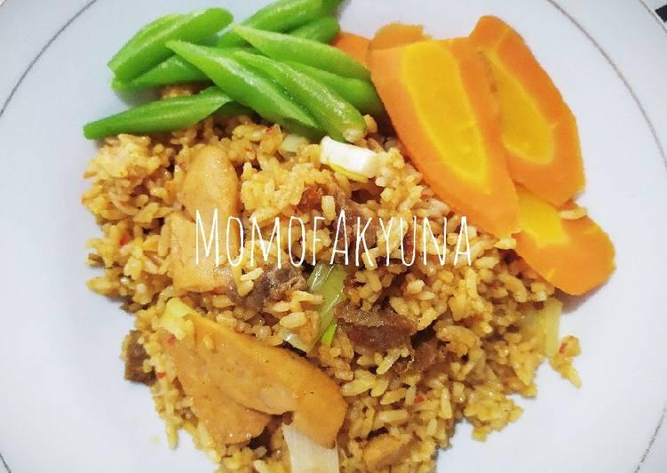 Resep Nasi goreng daging sosis