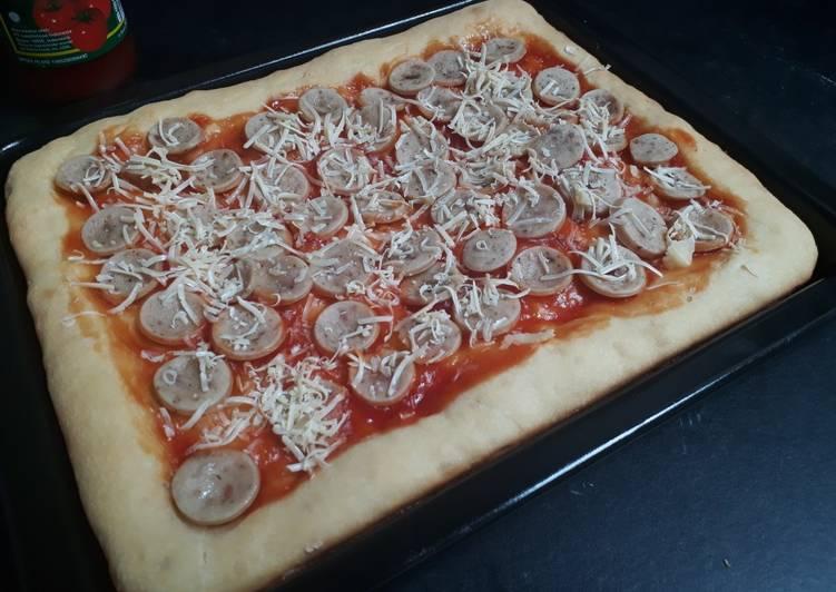 Resep Pizza Adonan Roti Manis