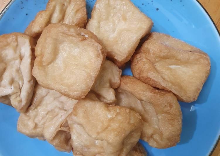Resep Tahu Susu