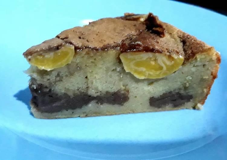 Resep Cake pisang choco layer