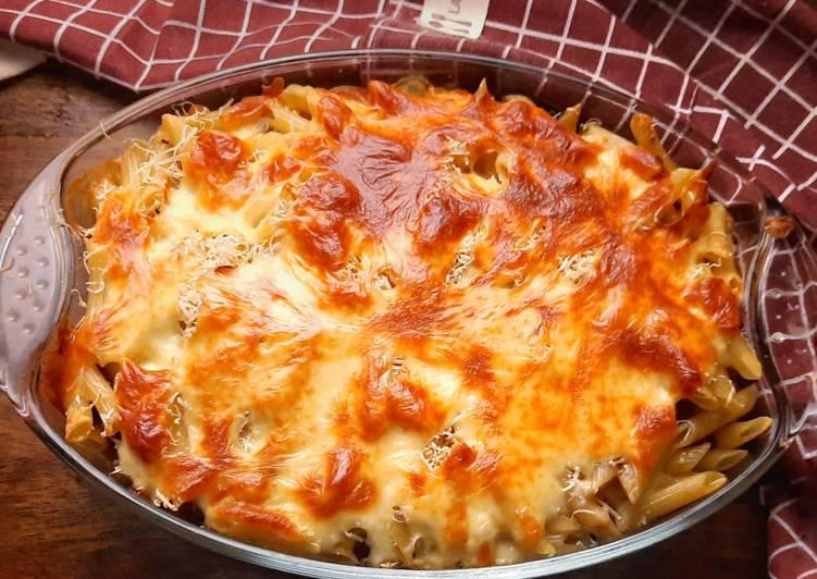 Resep Baked Pasta Mozarella