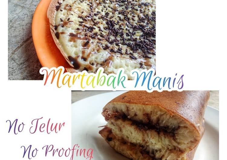 Resep Martabak Manis Ekonomis No Telur No Proofing
