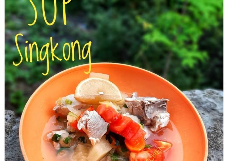 Resep Sop Singkong