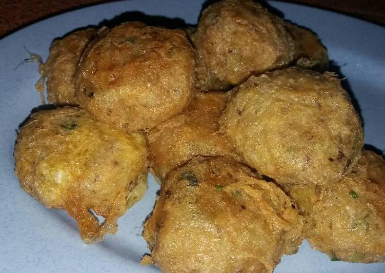 Resep Perkedel kentang + tuna