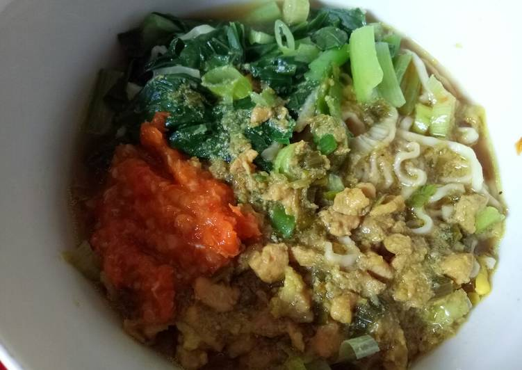 Resep Mie Ayam Abang2 #homemade #pekaninspirasi