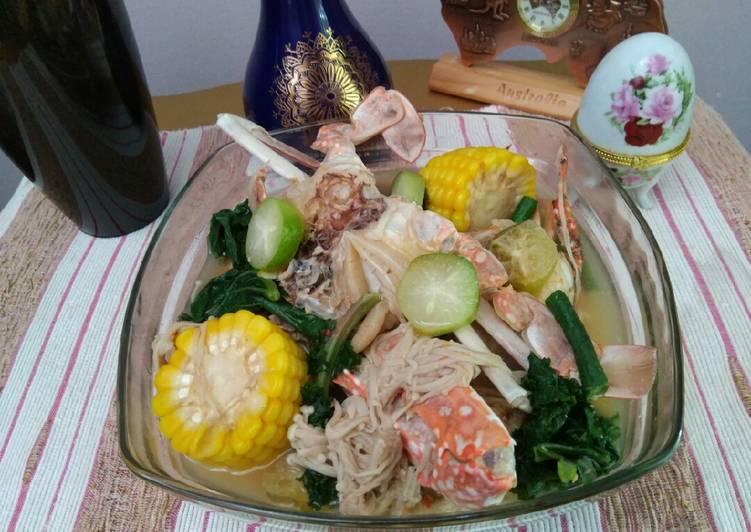 Resep Kale Rajungan Masak Sayur Asem