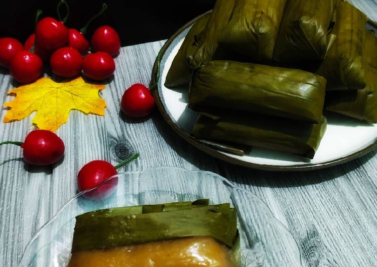 Resep 2papais beureum/nagasari merah