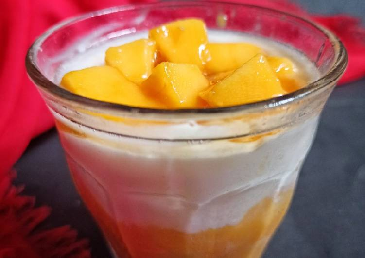 Resep 2Mango with Yogurt