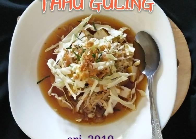 Resep Tahu guling