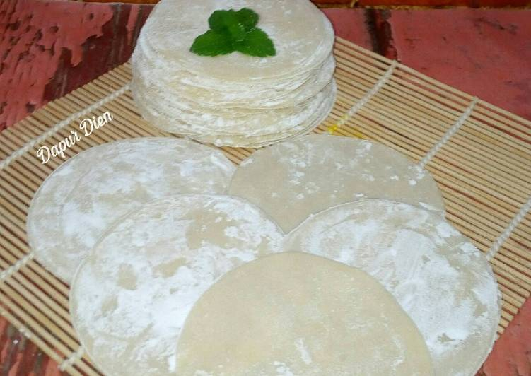 Resep Dumpling (Kulit DimSum)