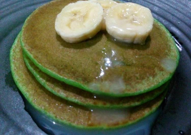 Resep Pancake seadanya