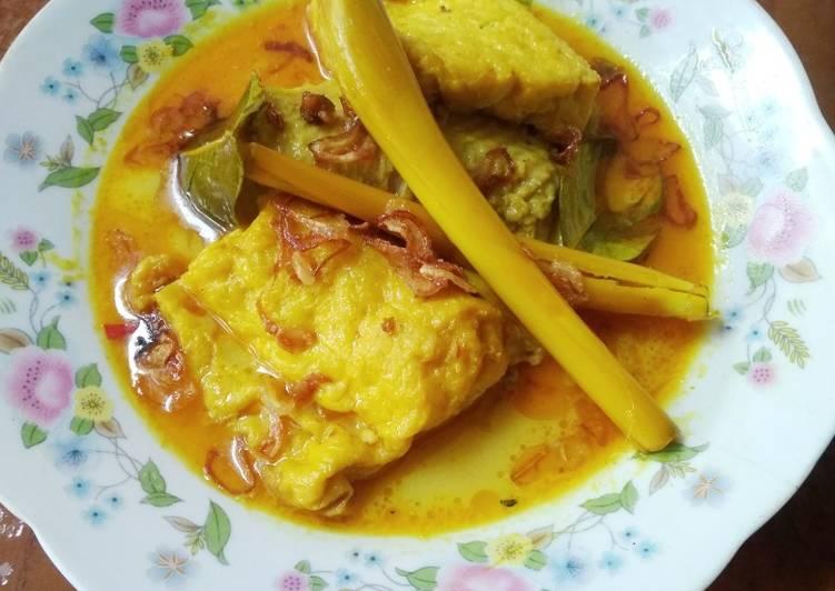 Resep Kare Ayam Tahu