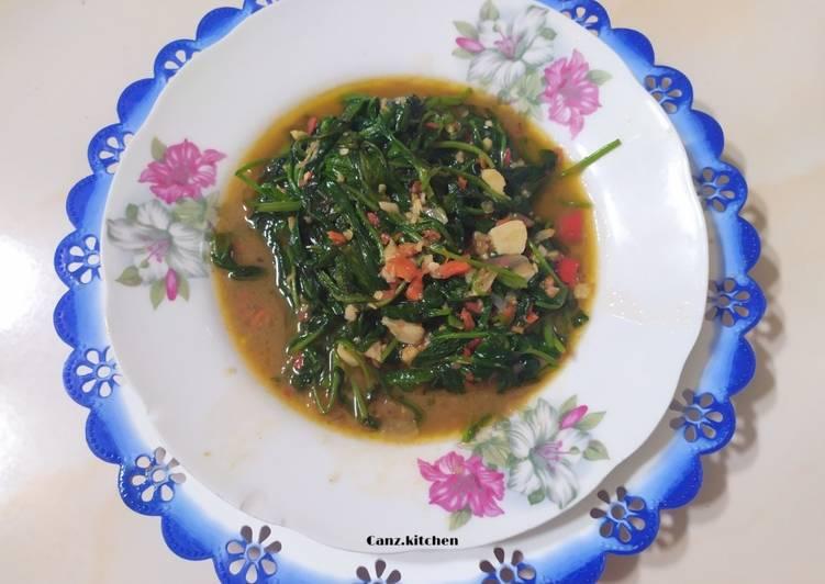 Resep Kangkung belacan