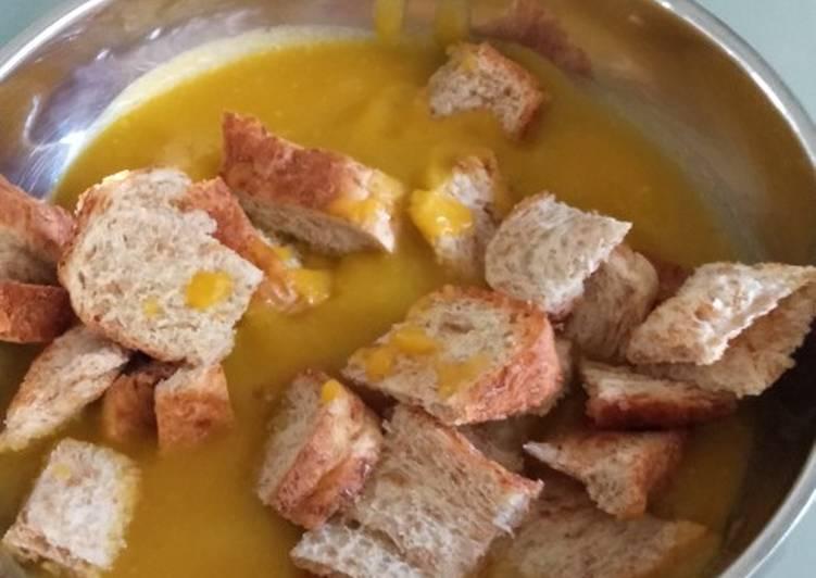 Resep Pumpkin soup