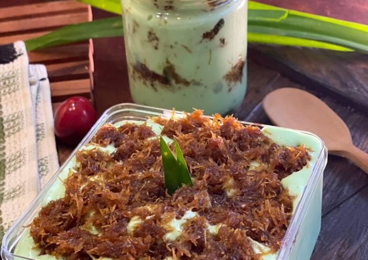 Resep Klepon Cake Dessert Box ala Tiger Kitchen