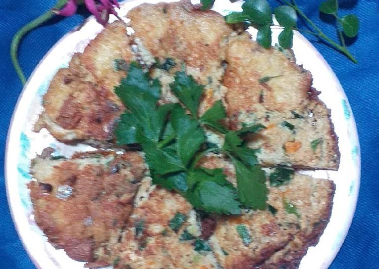 Resep Omlet telur kelapa muda wortel