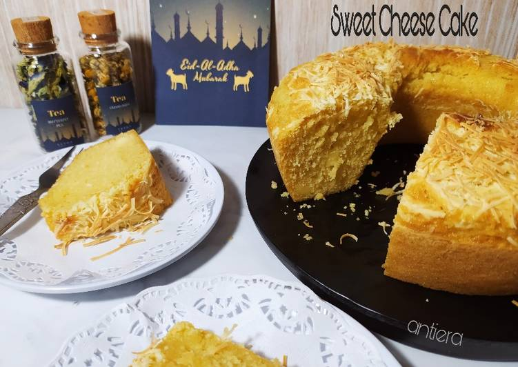 Resep Sweet Cheese Cake