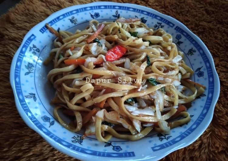 Resep Mie Goreng Pipih Sayur