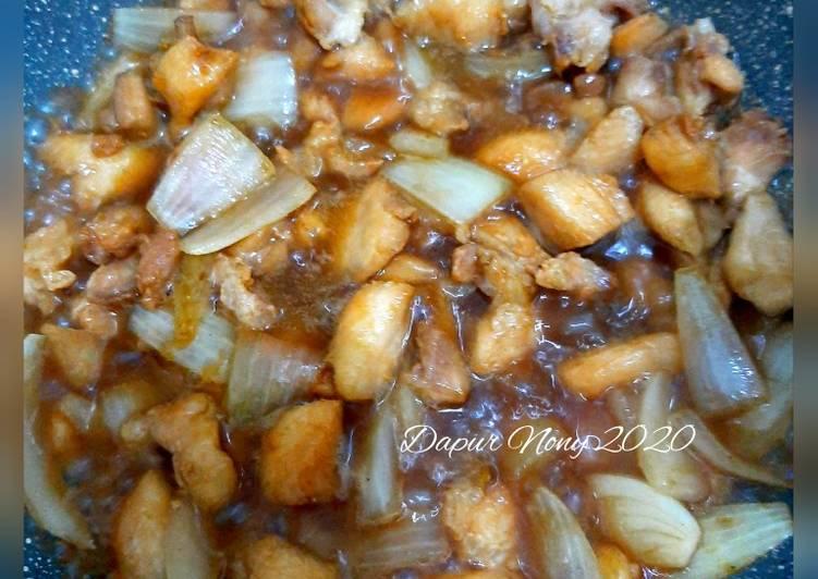 Resep Ayam Goreng Mentega Super Express
