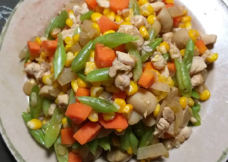 Resep Tumis Sayur Ceria