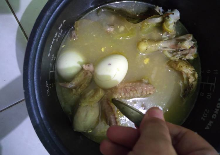 Resep Garang asem +3telur