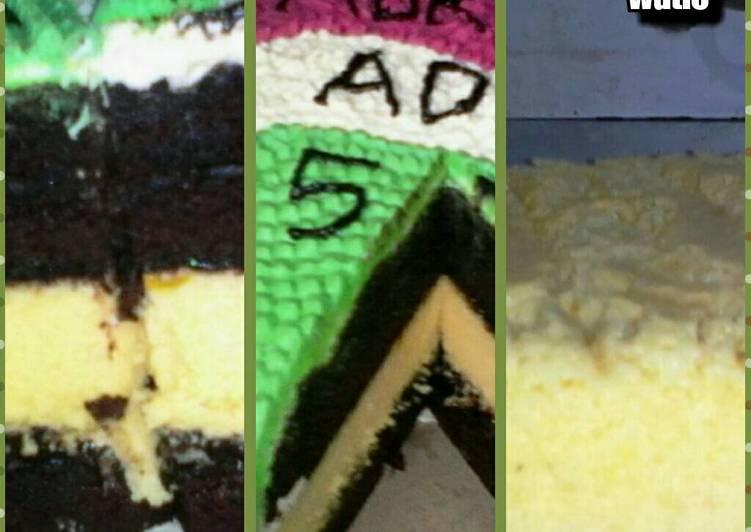 Resep Keju cheddar cake ekonomis(lebih enak dr ogura)