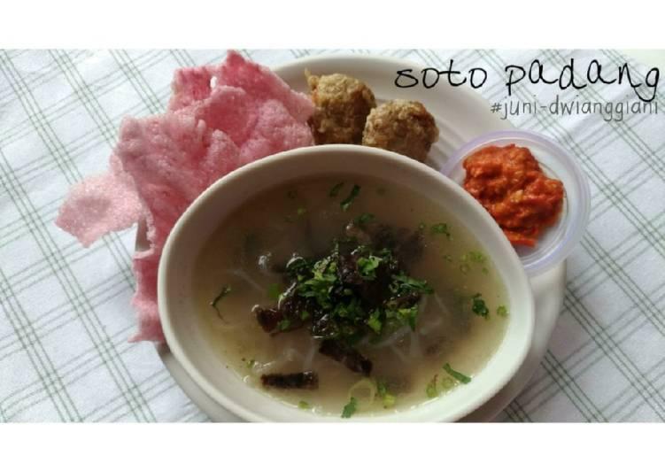 Resep Soto Padang (#pr_homemadestreetfood)