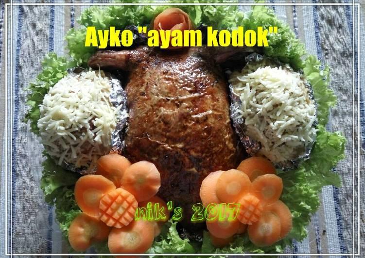 Resep Ayam kodok #ketopad