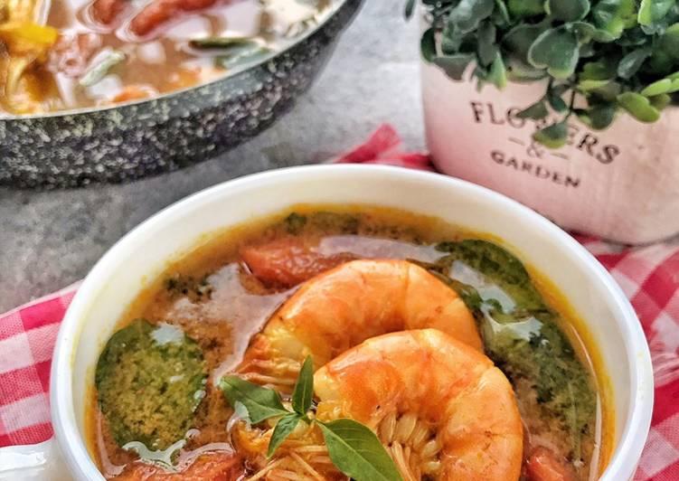Resep Sup Udang Kemangi