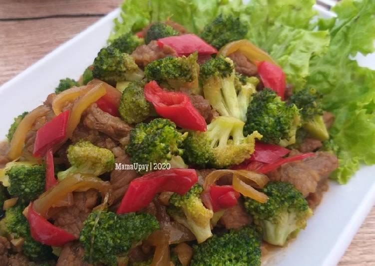Resep Tumis Daging Sapi Brokoli